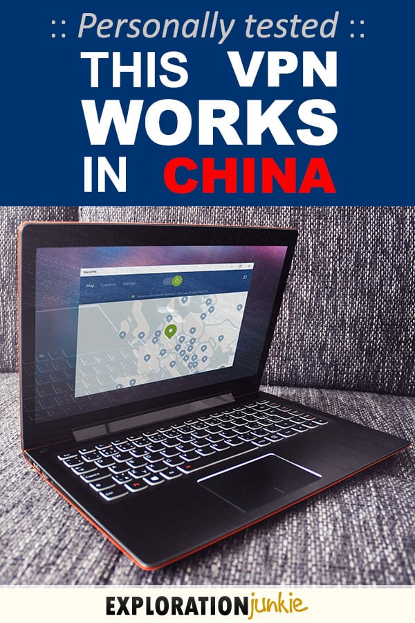 VPN that works in China Pinterest Image
