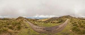 Climbing the Rucu Pichincha Volcano