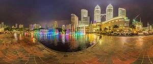 Kuala Lumpur, Christmas Fountains