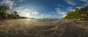 Langkawi, Black Sand Beach