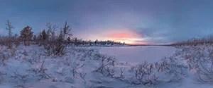 South of Kiruna
