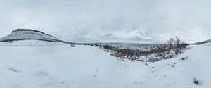 Tornetrask Lake Viewpoint
