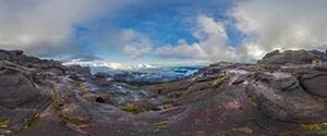 Mount Roraima Summit, View to Tepui Wei-Assipu