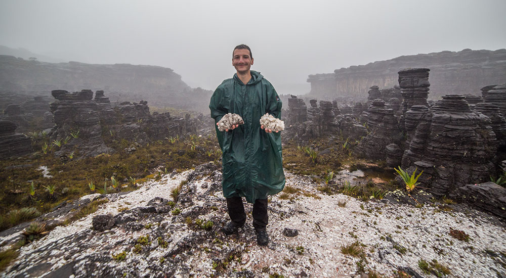 Mount Roraima Valley of Crystals
