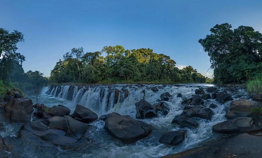 Tad Pha Suam Waterfall