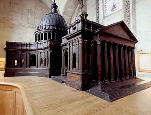 Triforum Level - The Great Model - Explore St Paul's Cathedral
