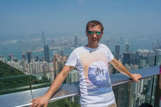 Alleine Reisen - in Hong Kong auf dem Victoria Peak