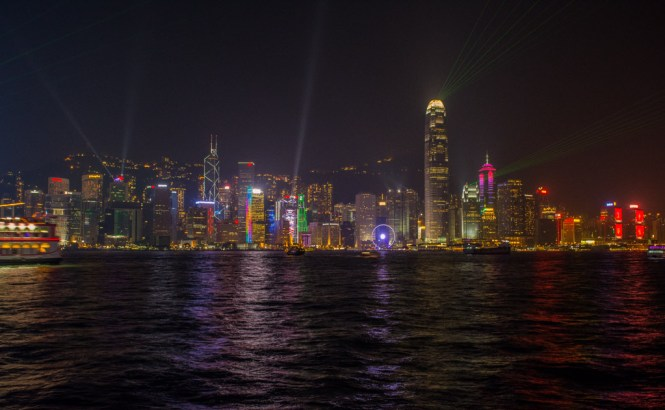 Symphony of lights Hong Kong