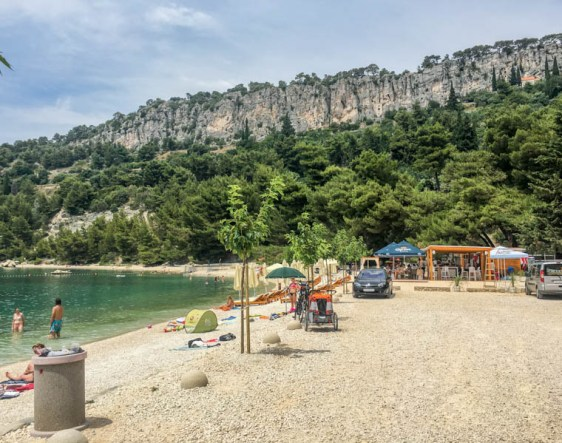 Kroatien Roadtrip: Kasjuni Beach