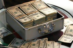 cash in a box