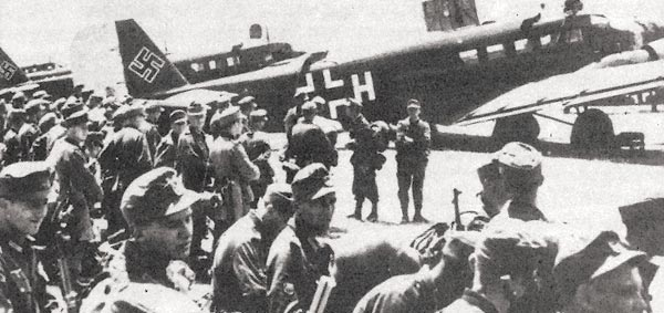 German army prepares to invade Crete