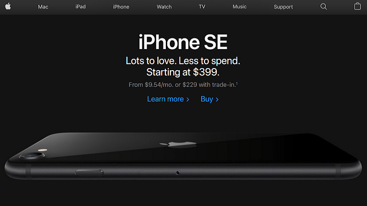"""How to Create a Website Design like """"Apple"""" – Not the Fruit!"""