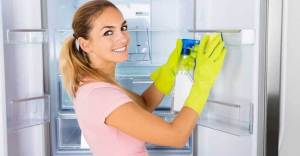 Cleaning The Refrigerator