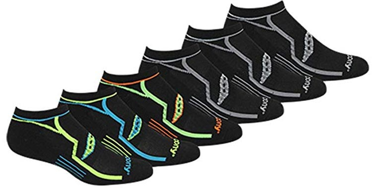 Saucony Performance No-Show Socks