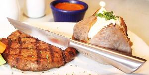 Utopia Kitchen 8 Pieces Stainless Steel Steak Knife Set