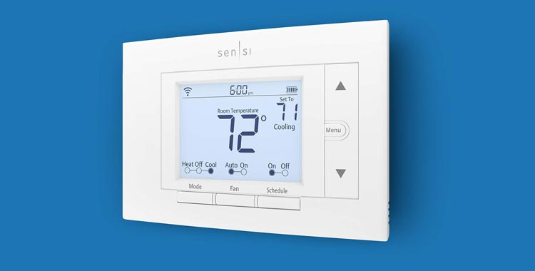 Emerson Thermostat for Smart Home, DIY Version, Works With Alexa, Energy Star Certified