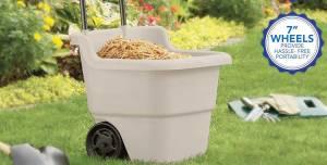 Suncast 2-Wheel Resin Multi-Purpose Cart