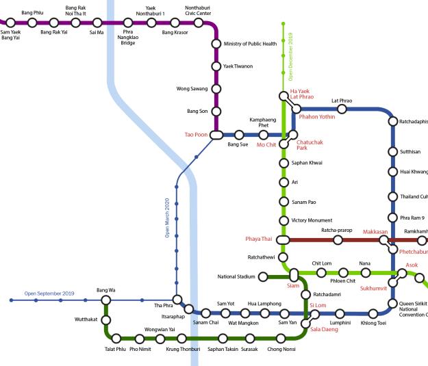 Taipei mrt map 2020