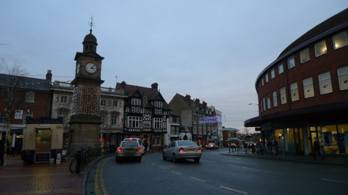 Rugby Town in Warwickshire
