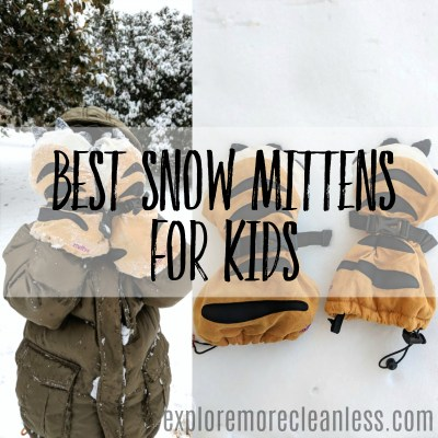 Best Snow Mittens for Kids