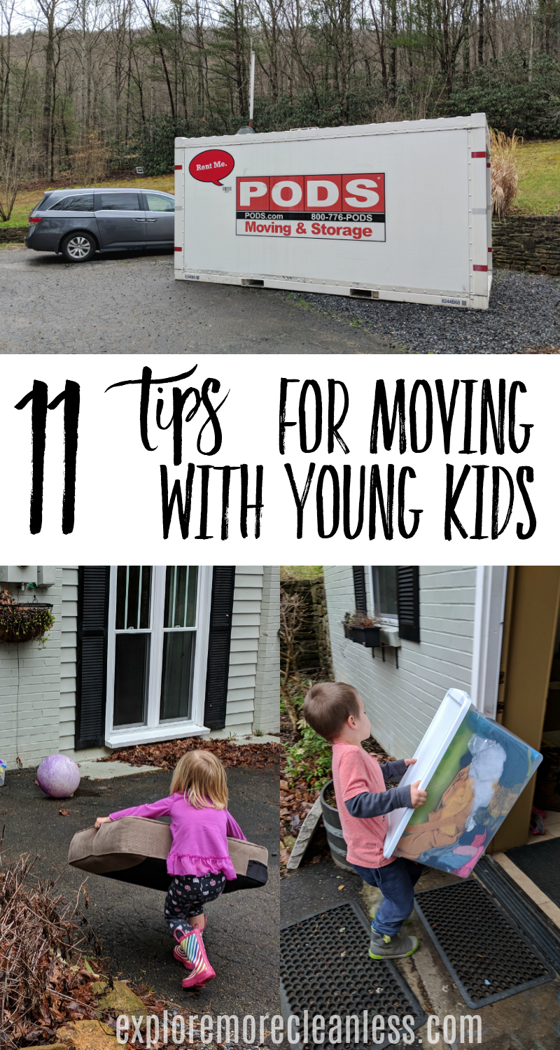 Worried about an upcoming relocation kids? We have moved three times in 5 years and have several tips for moving your family to a new state!