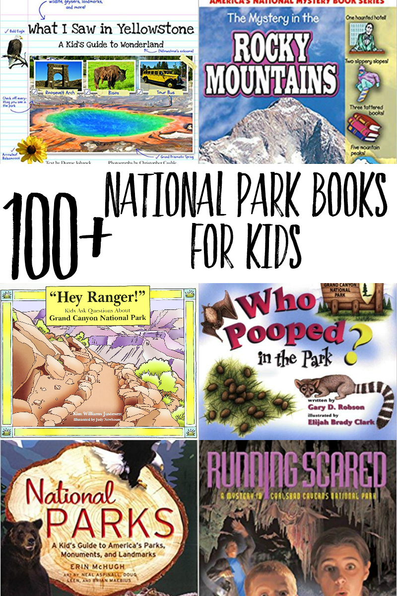 Planning a National Parks trip for kids? Check out this list, organized by park, of fiction & non-fiction national parks books for kids! #travel #parenting #nationalparks