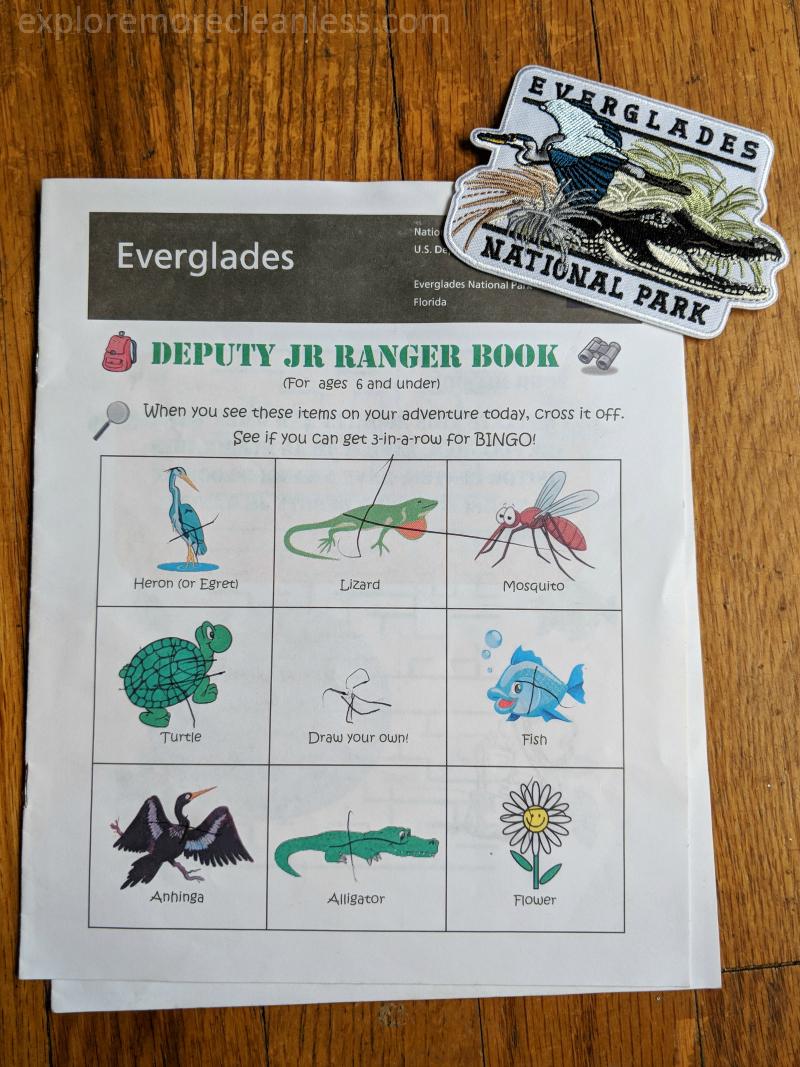 everglades junior ranger booklet