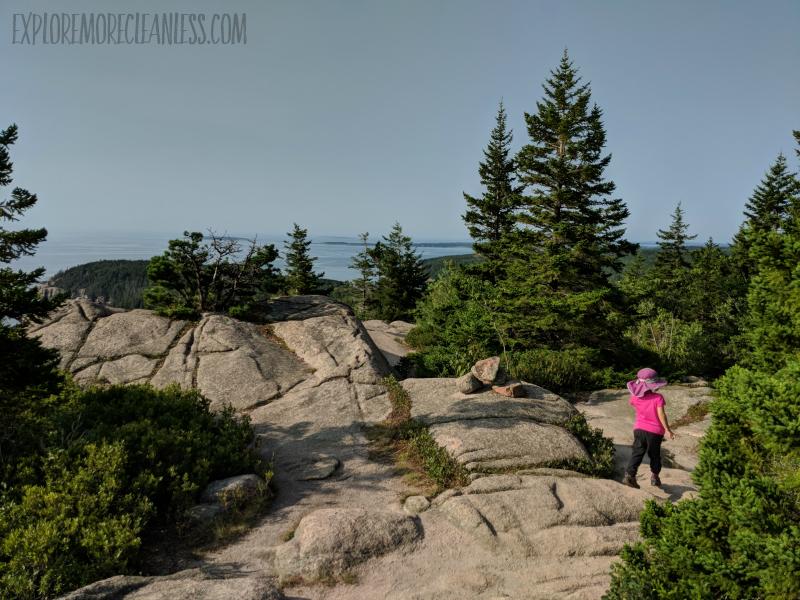 cadillac cliffs gorham mountain summit kids acadia