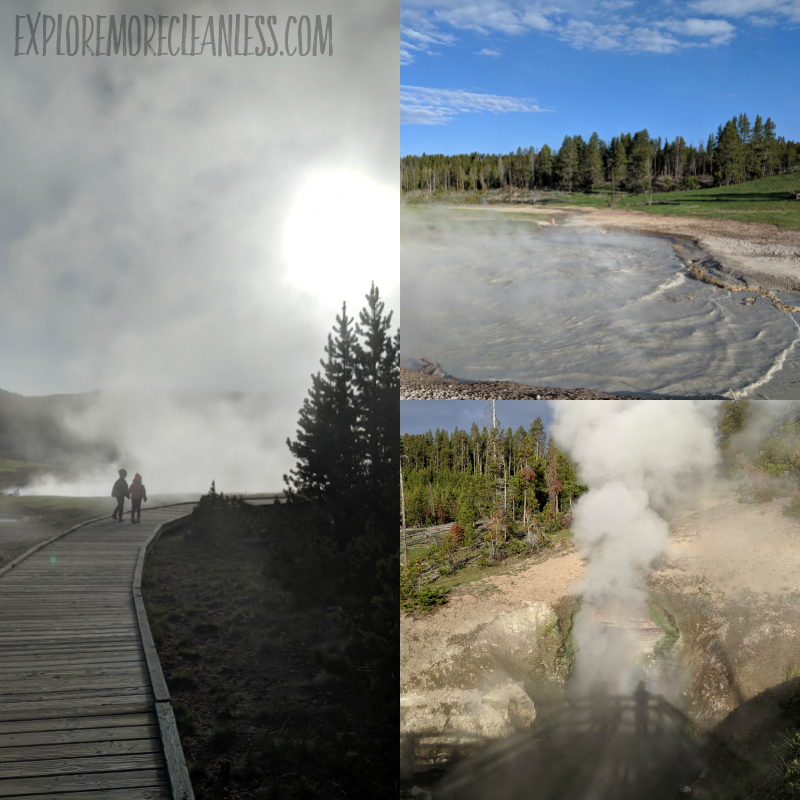 mud volcano area yellowstone kids