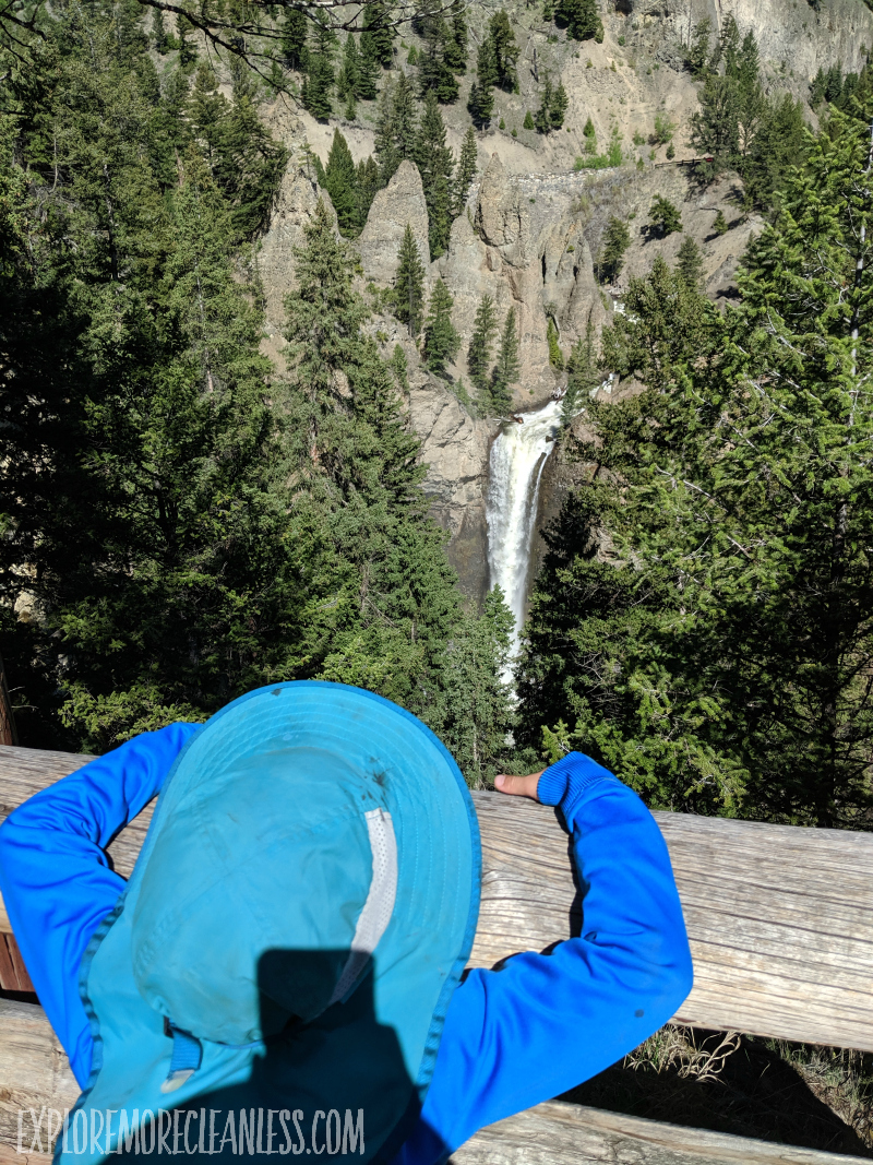 tower falls yellowstone