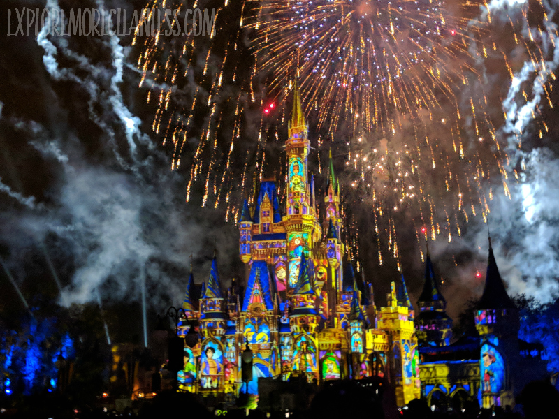 magic kingdom fireworks show