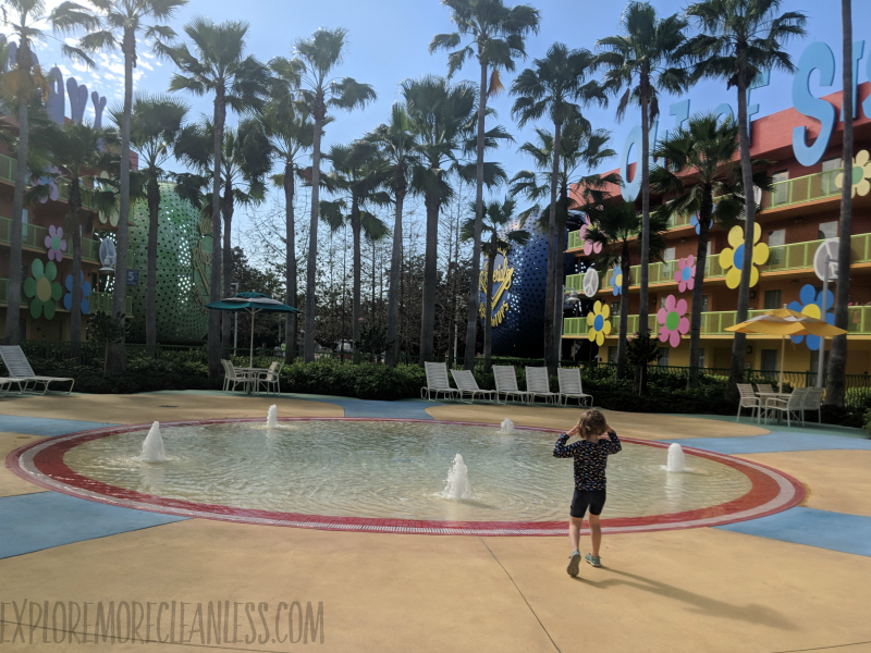 pop century wading pool 2019