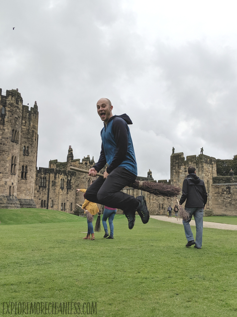broomstick picture england castle