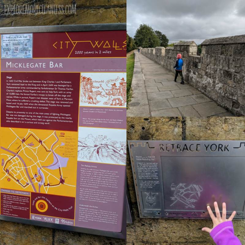 york city walls with kids