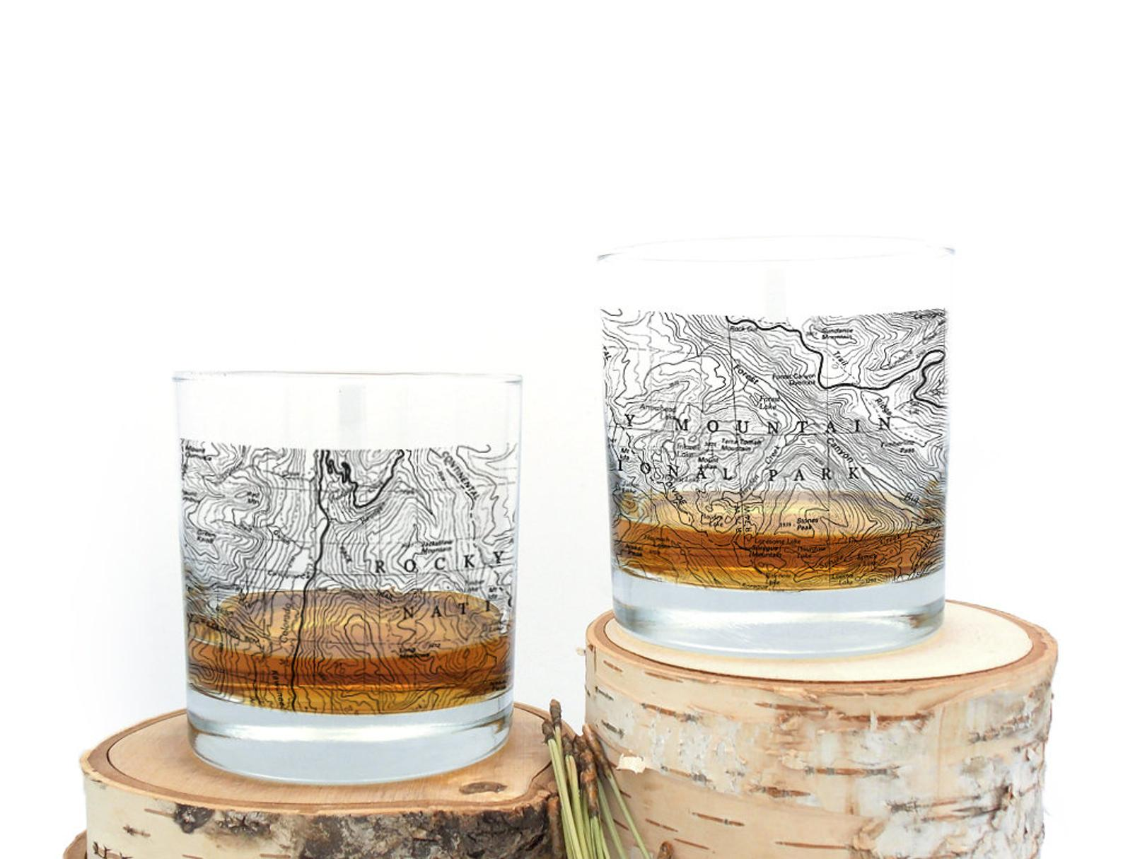 national park whiskey tumbler