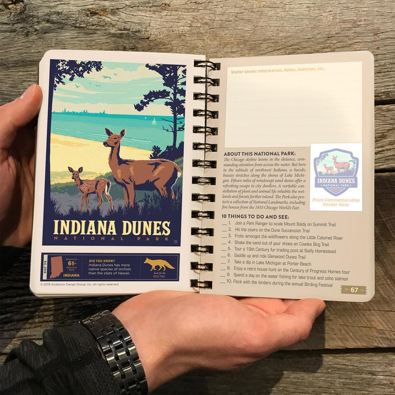 national parks adventure journal