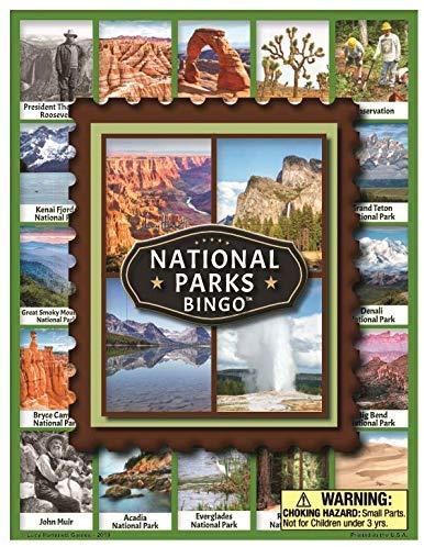 national parks bingo