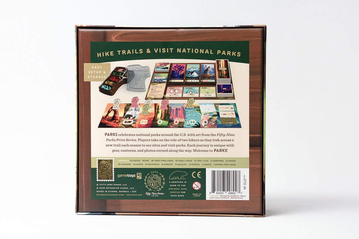 national parks board game