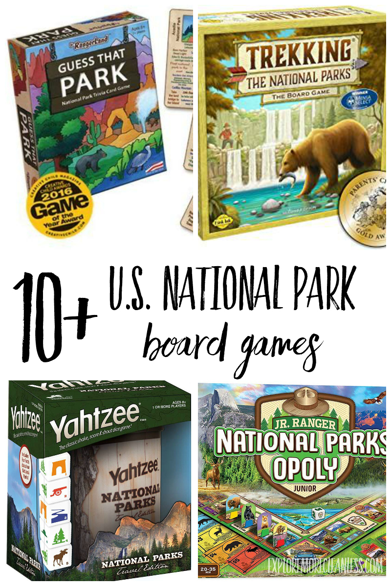 national parks board games
