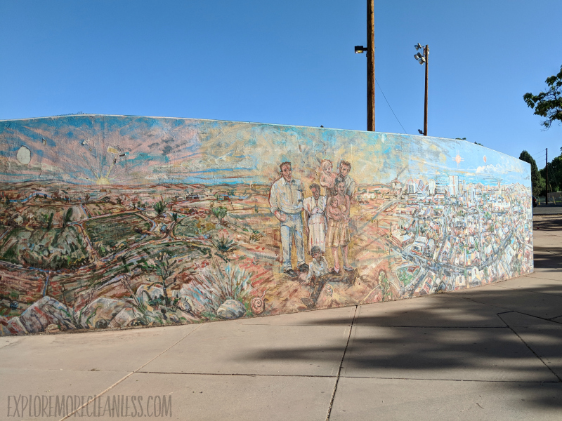 Albuquerque street art mural
