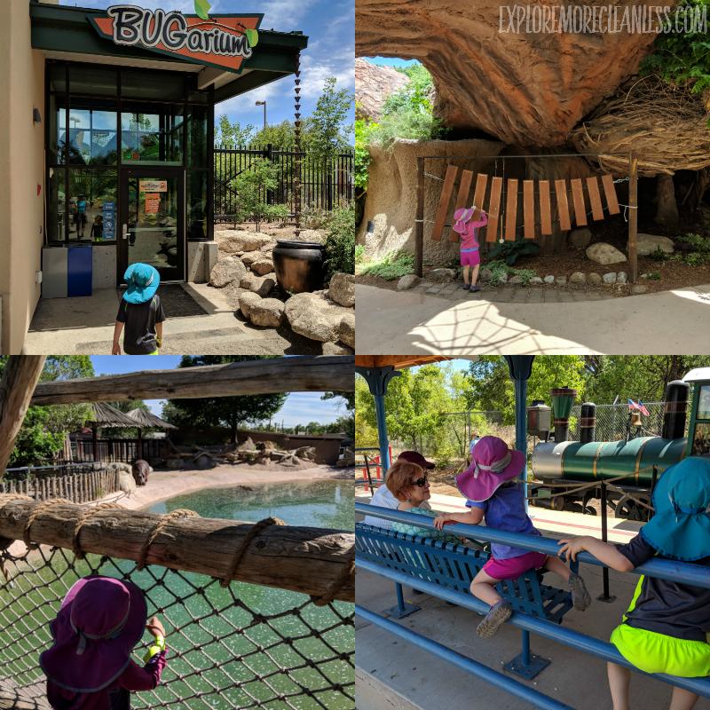 abq biopark with kids