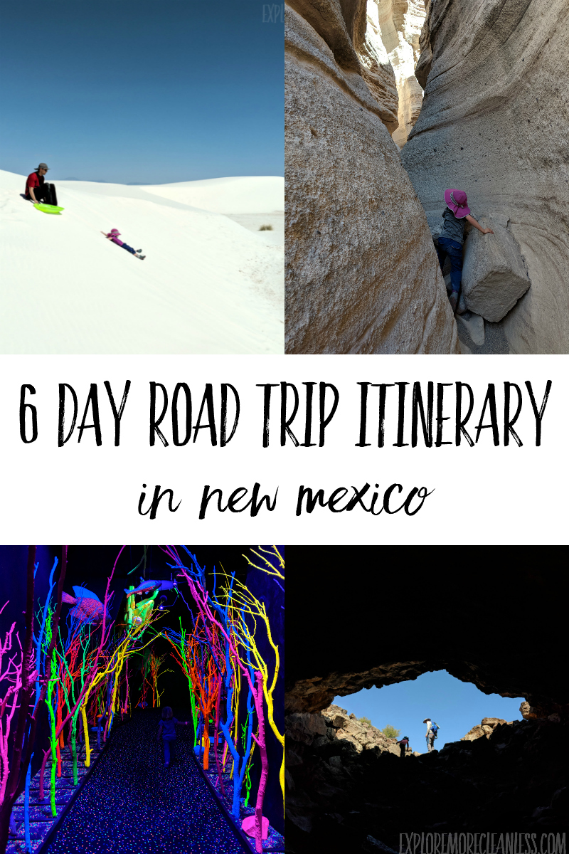 new mexico with kids ideas for road trips