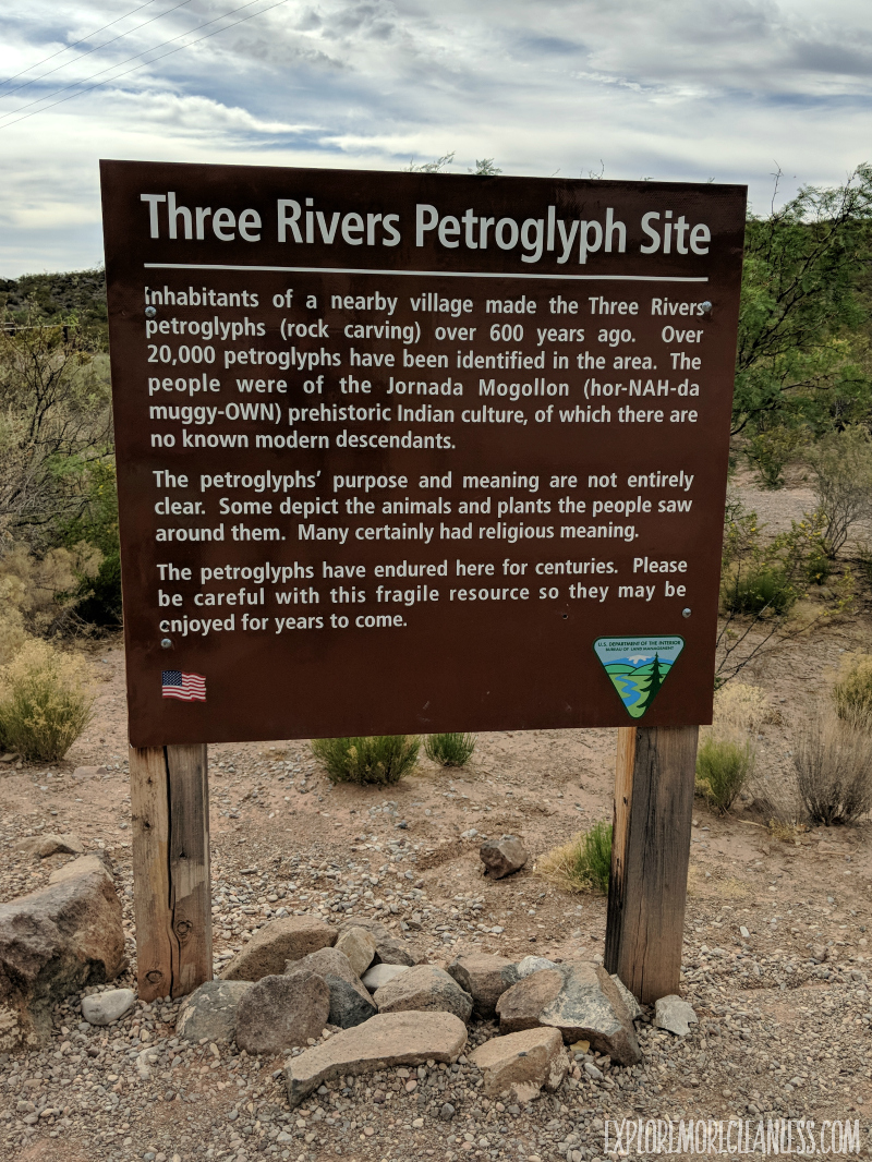 three rivers petroglyph site new mexico
