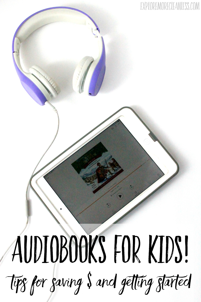 audiobooks with young kids