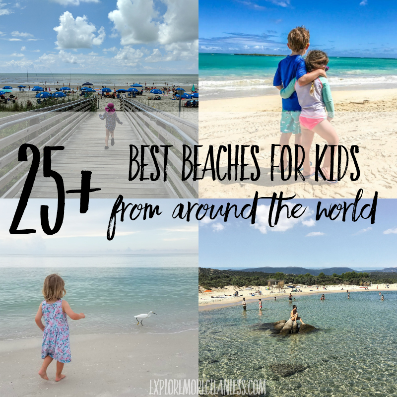 25+ best international beach vacations for families