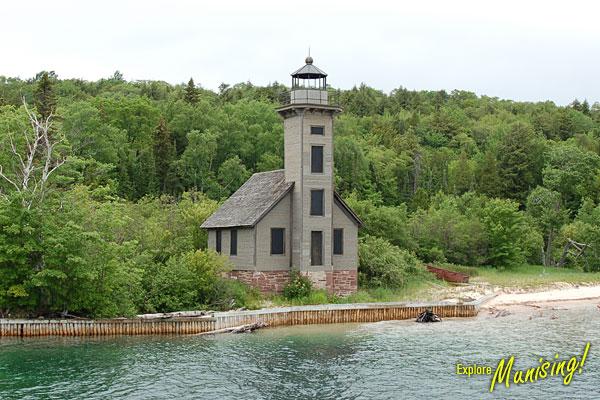 Old Lighthouse Munising Mi