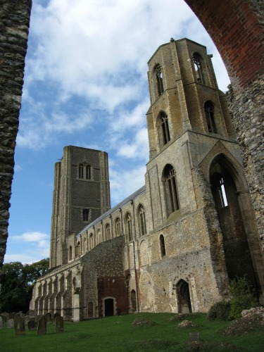 Wymondham Abbey A Spectacle Adorning The Skyline