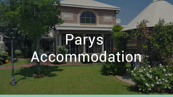 Parys, Free State Accommodation