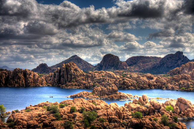 Watson Lake Park Prescott Arizona Recreation Camping