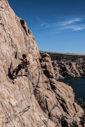 Prescott Arizona Rock Climbing Time Zone Wall
